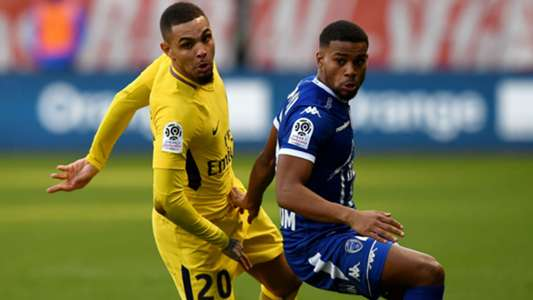 Layvin Kurzawa Samuel Grandsir Troyes PSG Ligue 1 03032018