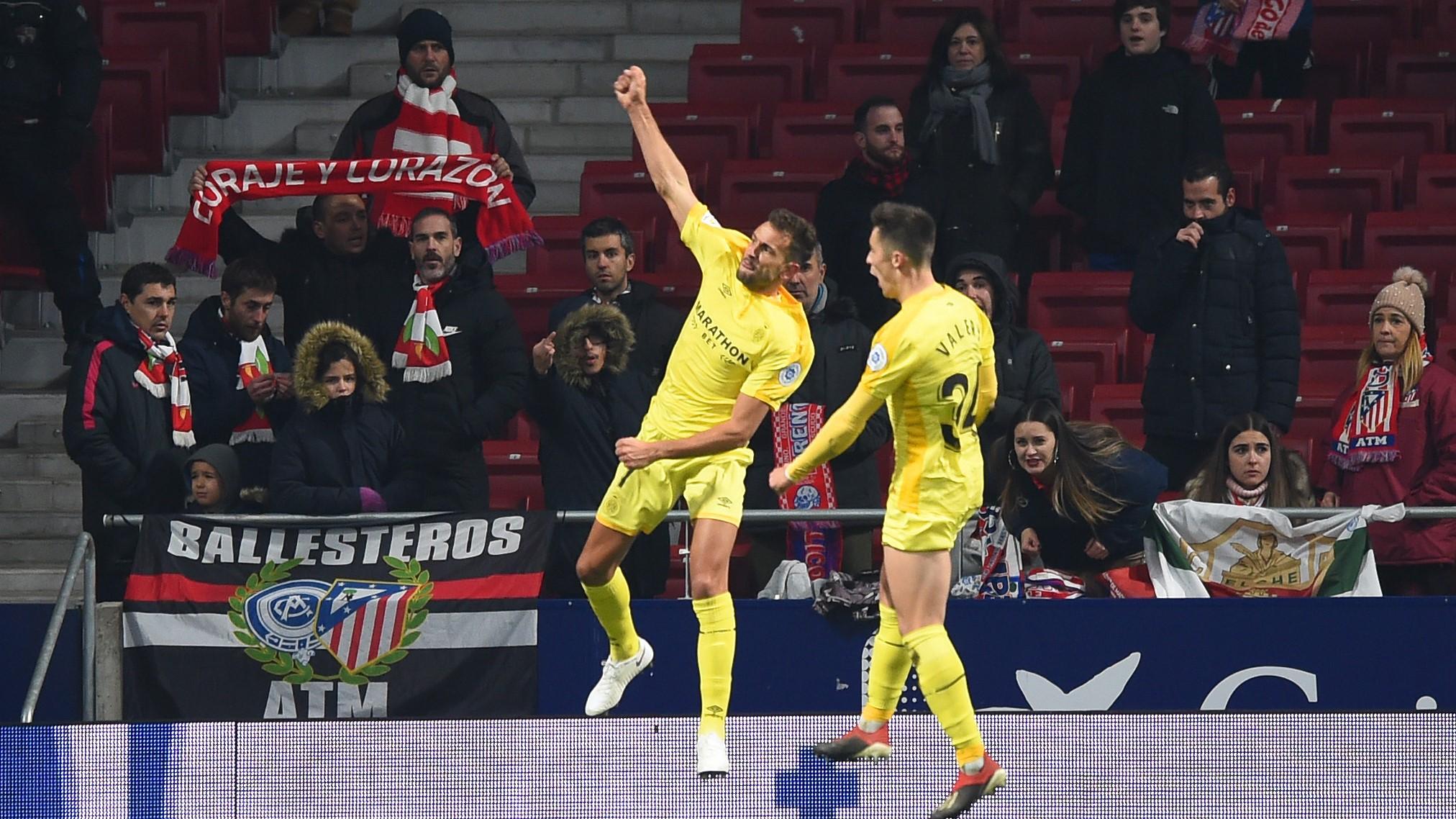 Cristian Stuani Atletico de Madrid Girona Copa del Rey 16012019