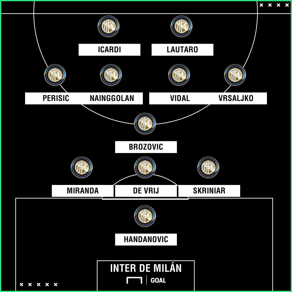 PS Inter de Milán (Vidal)