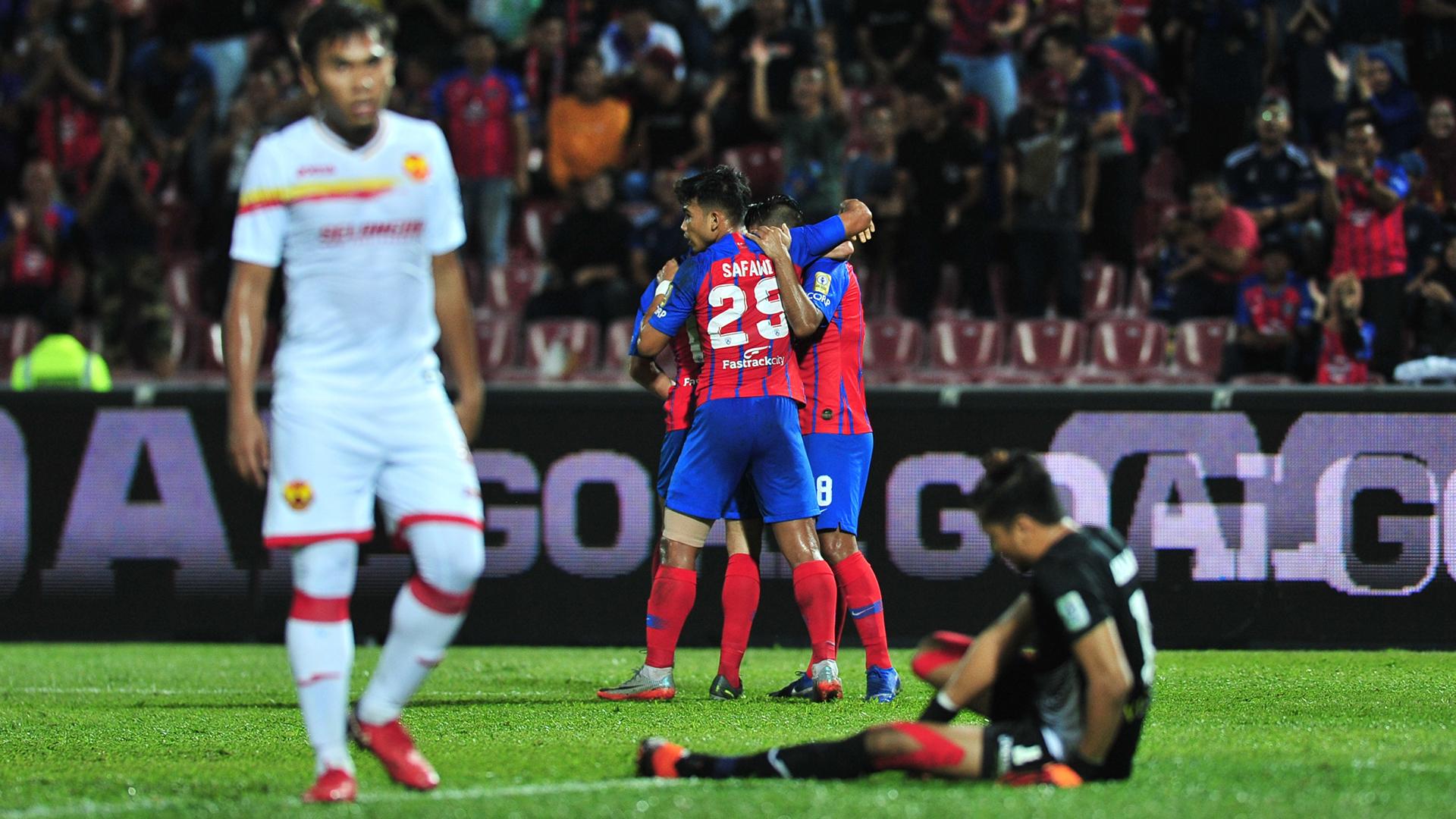 Johor Darul Ta'zim v Selangor, Malaysia Super League, 19 Jun 2019