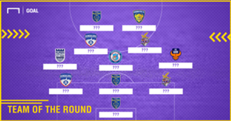 ISL 2017-18 Team of the Round 9