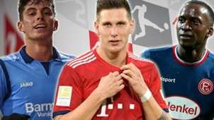Schnellste Bundesliga-Spieler Hinrunde