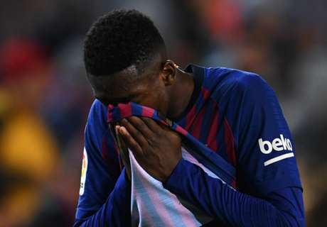 Bittersweet night for Dembele as he thrills in Barca win