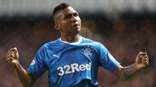 Glasgow Rangers Alfredo Morelos