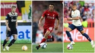 Golden Boy top 40: De Ligt, Alexander-Arnold, Mbappé