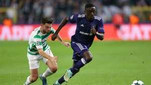 Dennis Appiah Champions League Anderlecht
