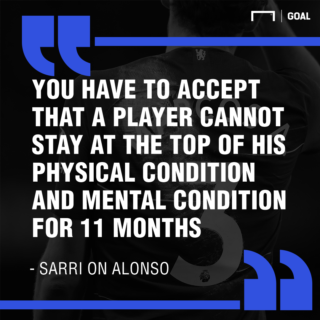 Sarri on Marcos Alonso quote GFX