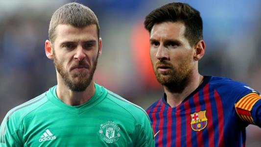 De Gea doing 'special' work to prepare for Messi battle