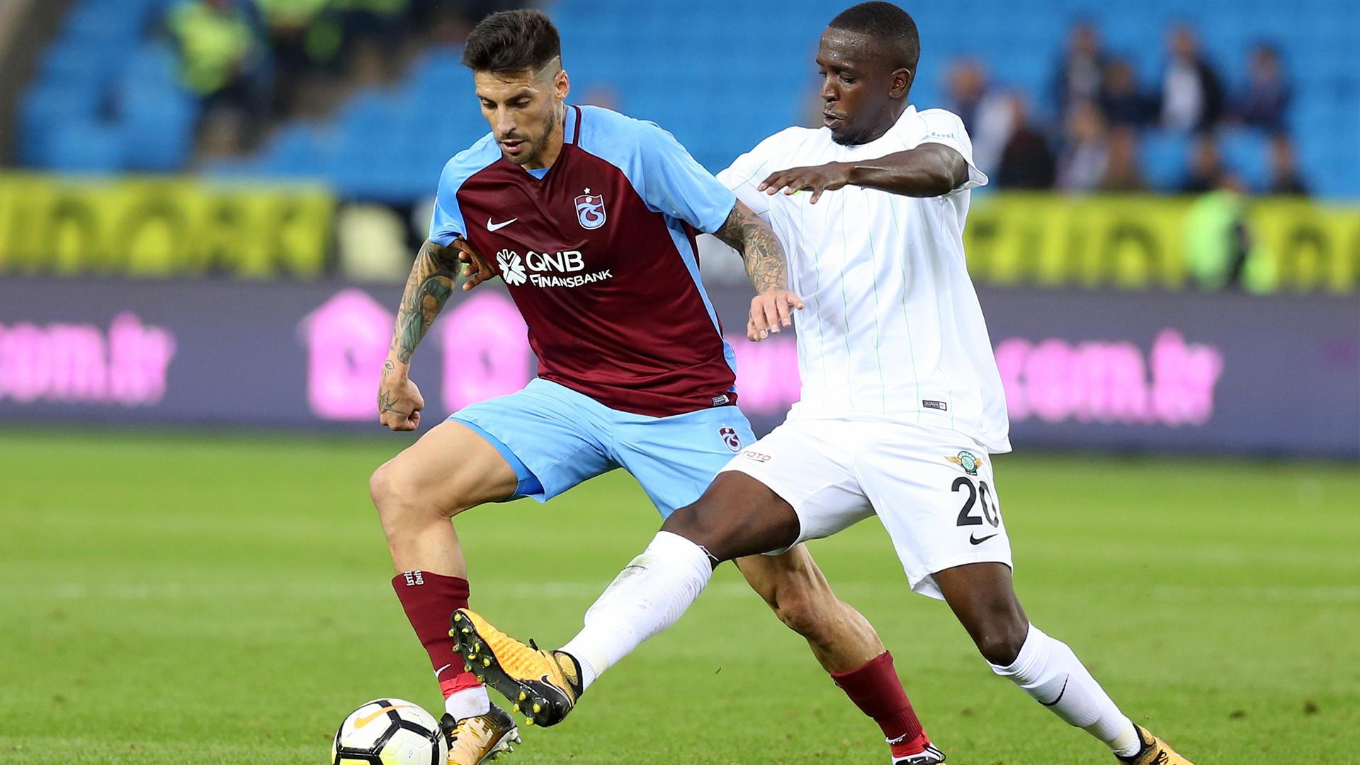 Jose Sosa Sissoko Trabzonspor Akhisarspor 10152017