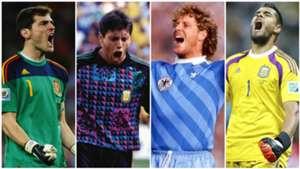 Los mejores atajadores de penales en la historia de los Mundiales