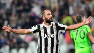 Gonzalo Higuain, Juventus, Serie A, 09092017