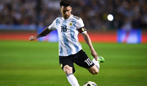Lionel Messi Argentina Haiti 2018