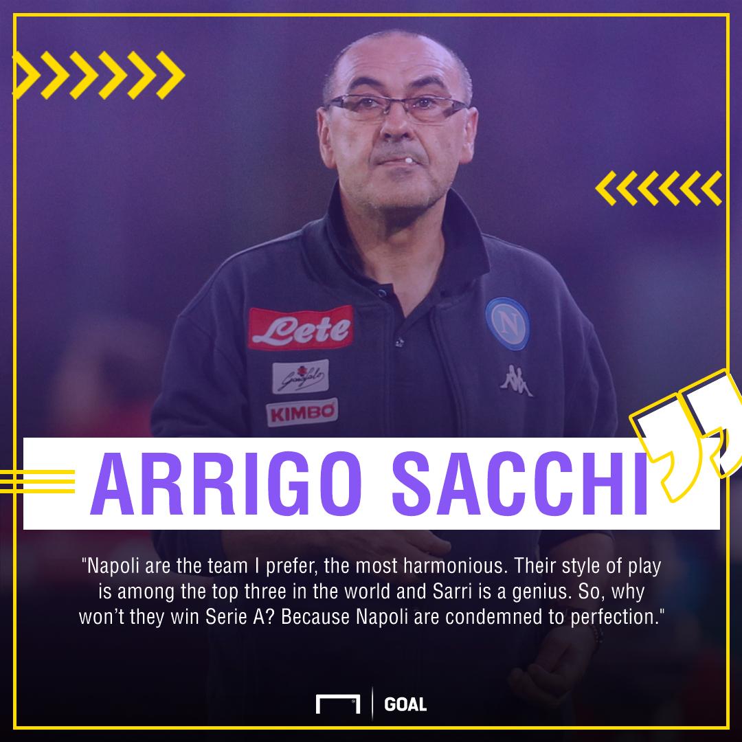 Arrigo Sacchi Sarri Napoli PS