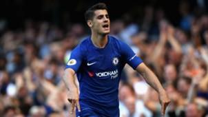 Alvaro Morata Chelsea Everton Premier League
