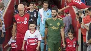 Diego Valeri Michael Bradley Portland Timbers Toronto FC MLS