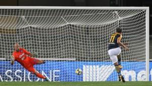 Giampaolo Pazzini Verona Napoli Serie A