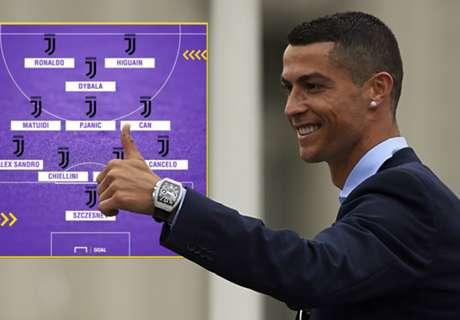 Hoe Juventus kan spelen met Cristiano Ronaldo