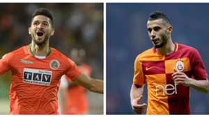 Emre Akbaba Younes Belhanda collage