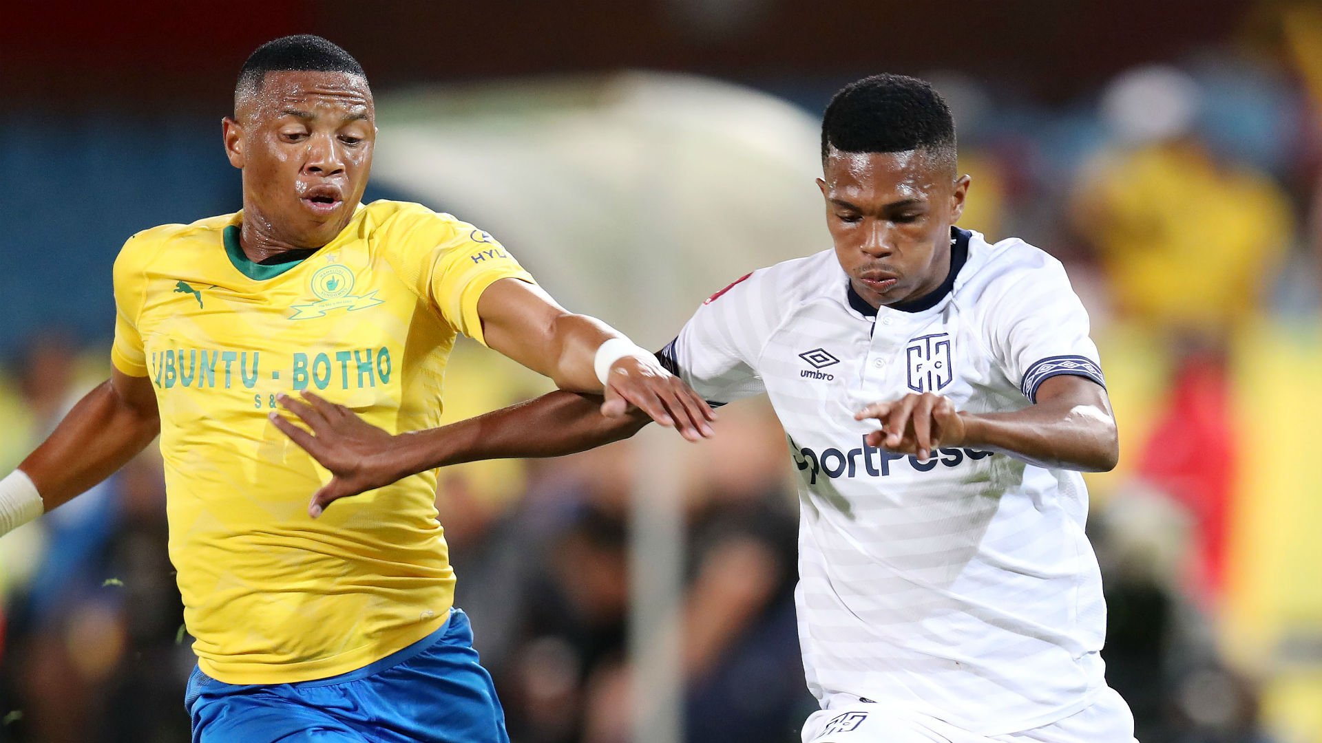 Andile Jali, Sundowns & Gift Links, Cape Town City, February 2019