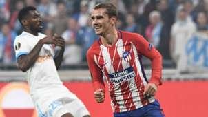 Griezmann Marseille Atletico Madrid Europa League