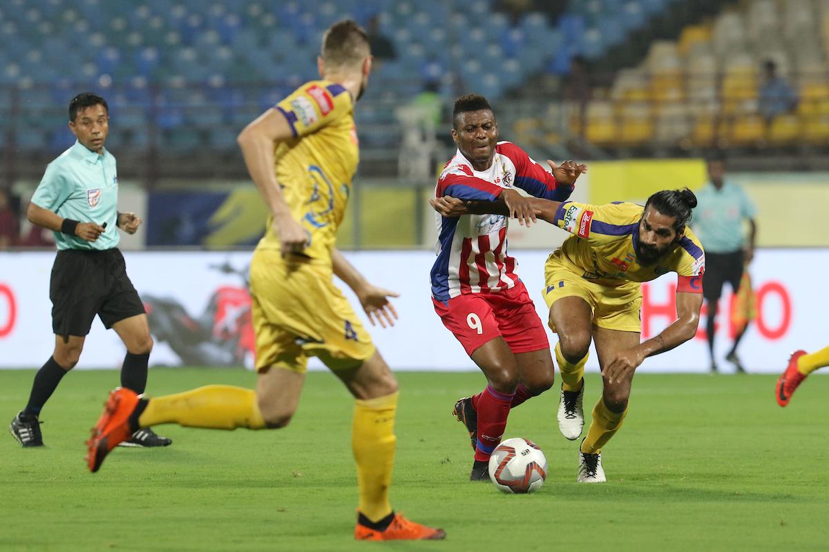 ATK vs Kerala Blasters kalu Uche Sandesh Jhingan