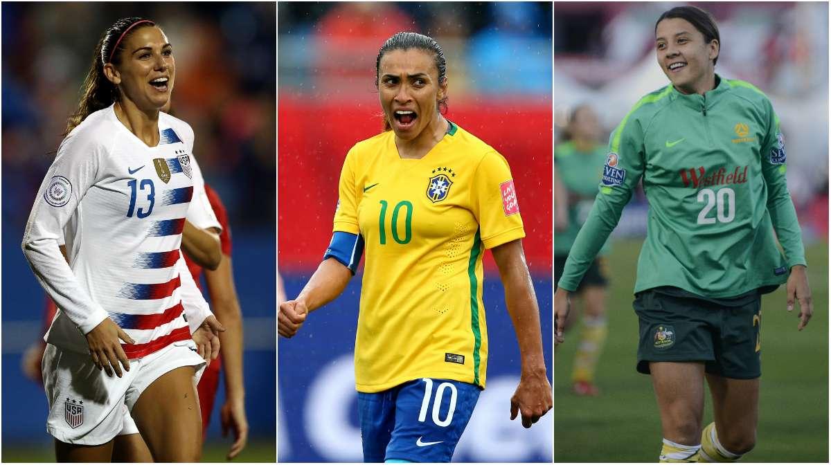 女足世界杯5位球员