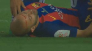 Javier Mascherano Barcelona Alaves