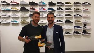 Nuevas botas de Sergio Ramos