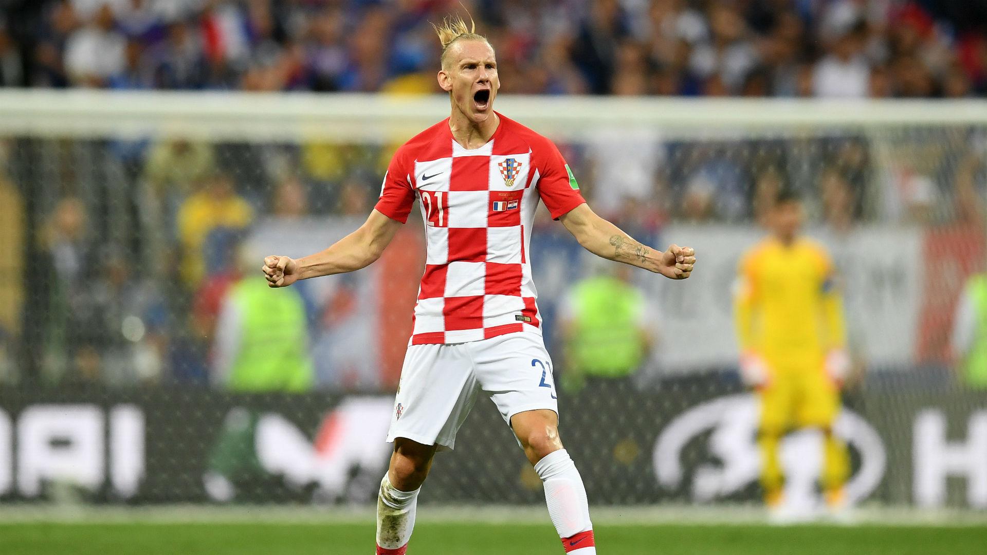 france croatia - domagoj vida -world cup final - 15072018