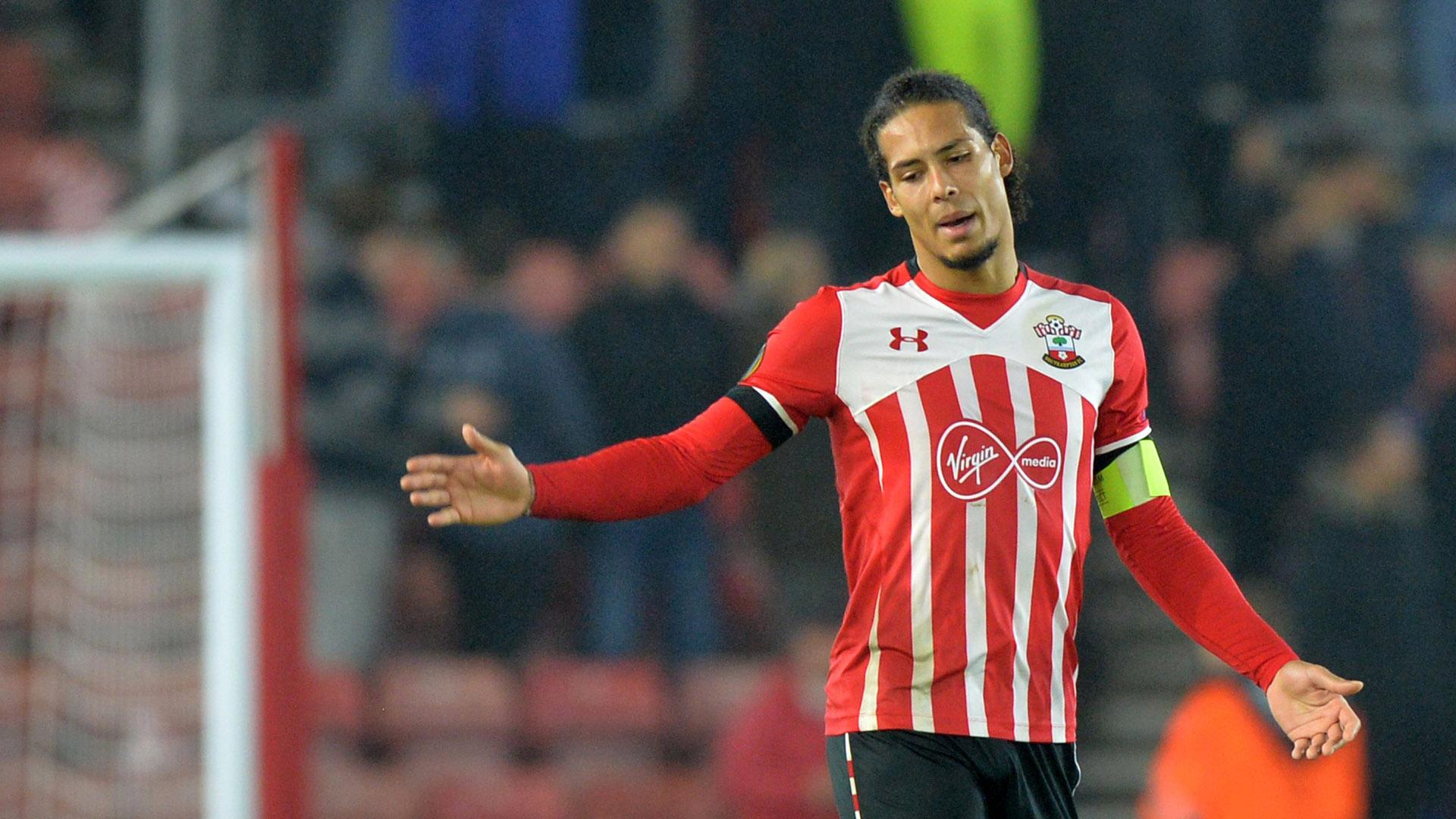 Virgil van Dijk Southampton Premier League