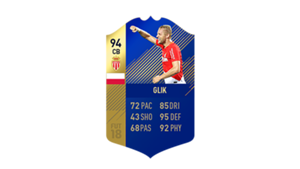 FIFA 18 Ligue 1 Team of the Season Glik