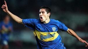 Juan Roman Riquelme River Boca Copa Libertadores 2000