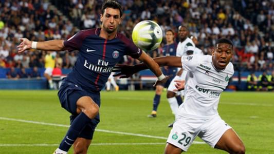 Javier Pastore PSG ASSE Ligue 1 25082017
