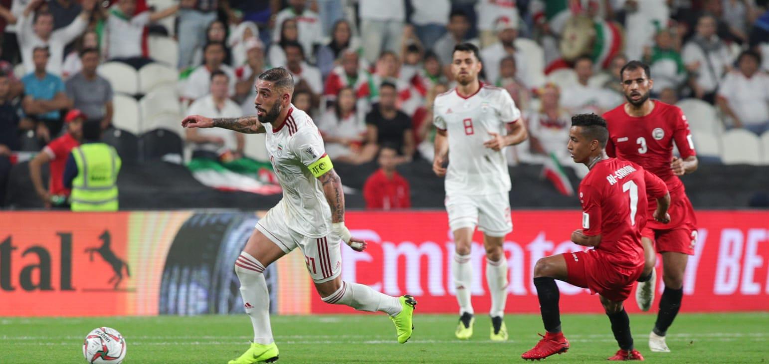 iran 5-0 yemen asian cup 2019
