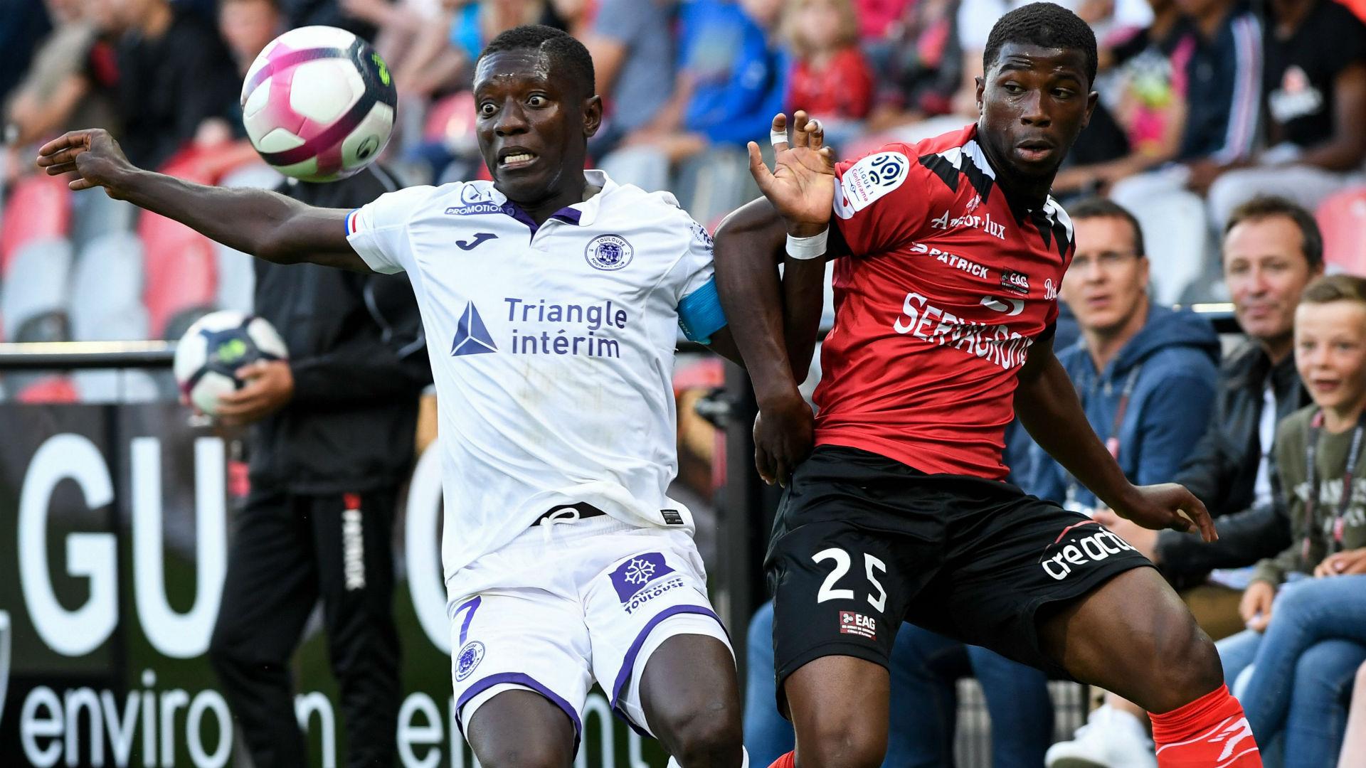 Cheik Traore Max-Alain Gradel Guingamp Toulouse Ligue 1 01092018