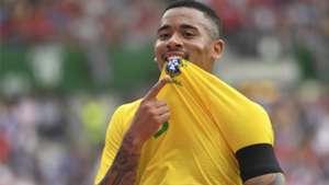 Gabriel Jesus Brasil x Áustria amistoso 10 06 18
