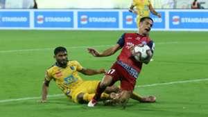 Anas Edathodika Tim Cahill Kerala Blasters Jamshedpur FC ISL 5