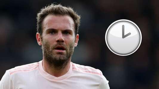 Juan Mata Man Utd contract