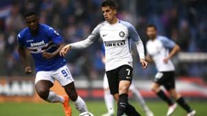 Joao Cancelo Duvan Zapata Sampdoria Inter Serie A