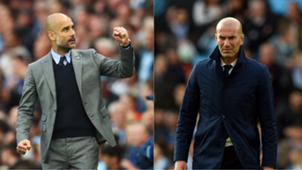 Zidane and pep guardiola