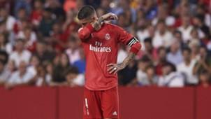 Sergio Ramos Real Madrid Sevilla La Liga 26092018