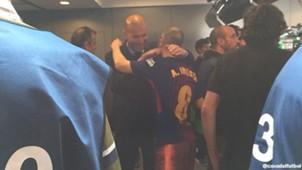 Iniesta Zidane