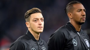 Mesut Özil Jerome Boateng DFB Team