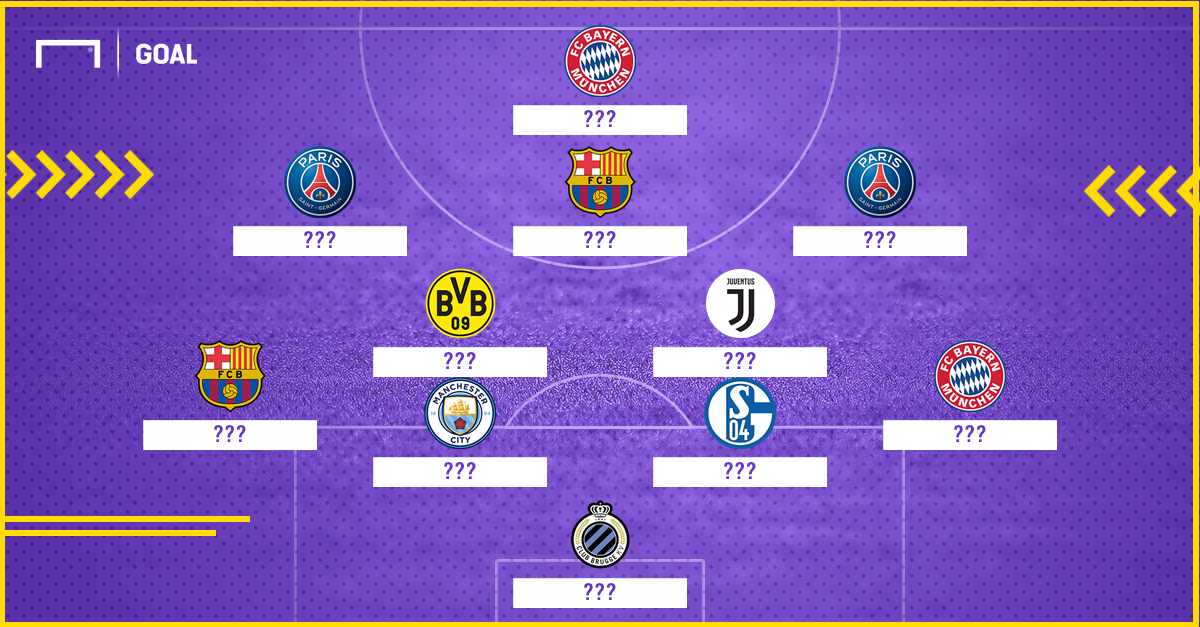 UCL Team of Groupstage 2018/19