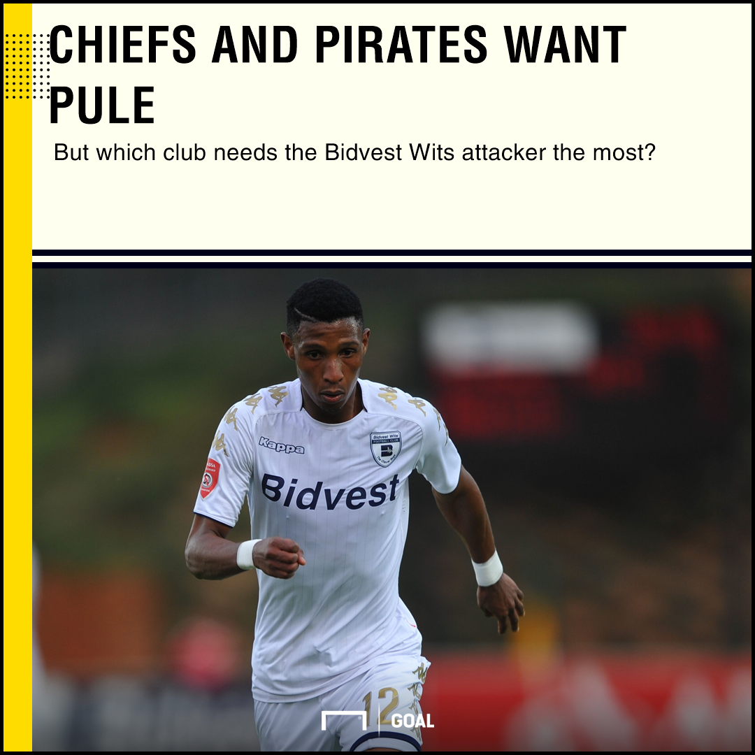 Vincent Pule, Bidvest Wits, April 2018