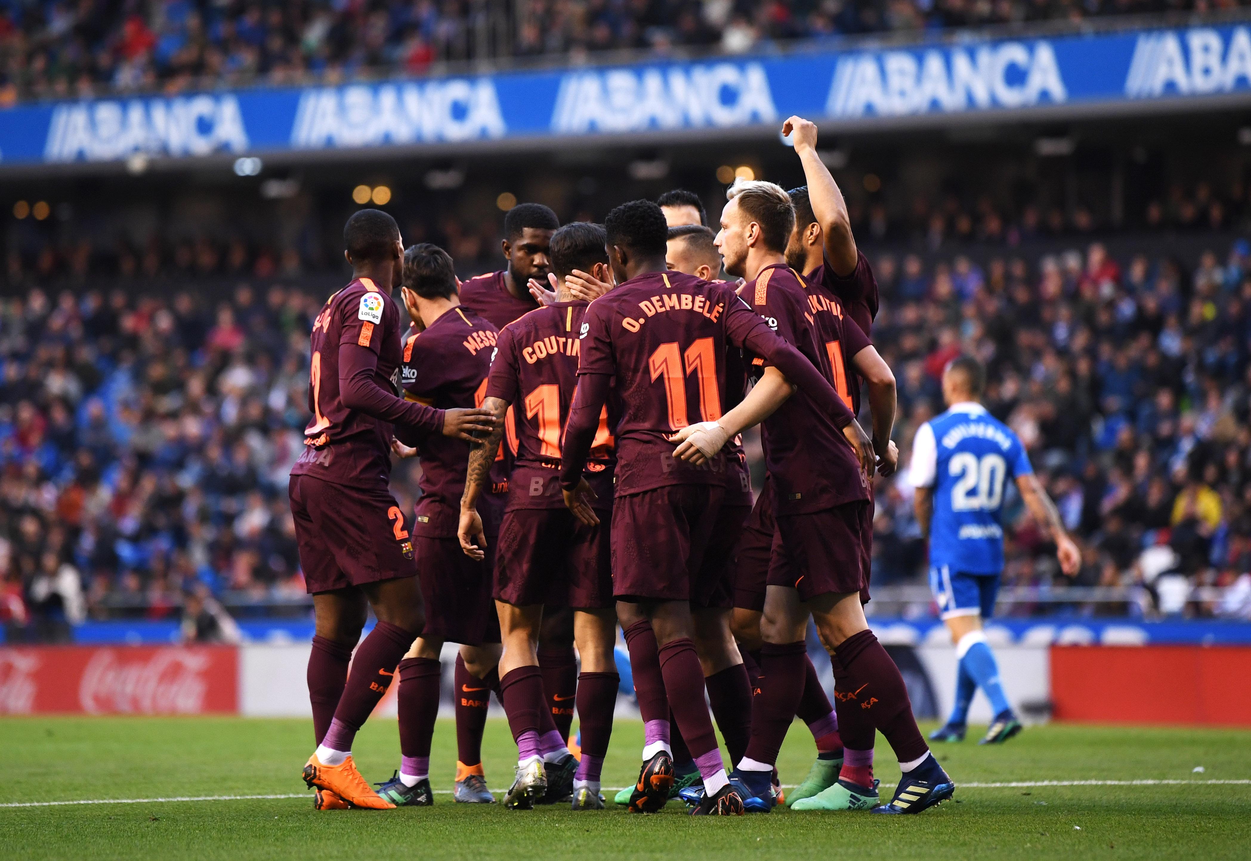 Liga: Barcellona campione, il Deportivo di Seedorf retrocede