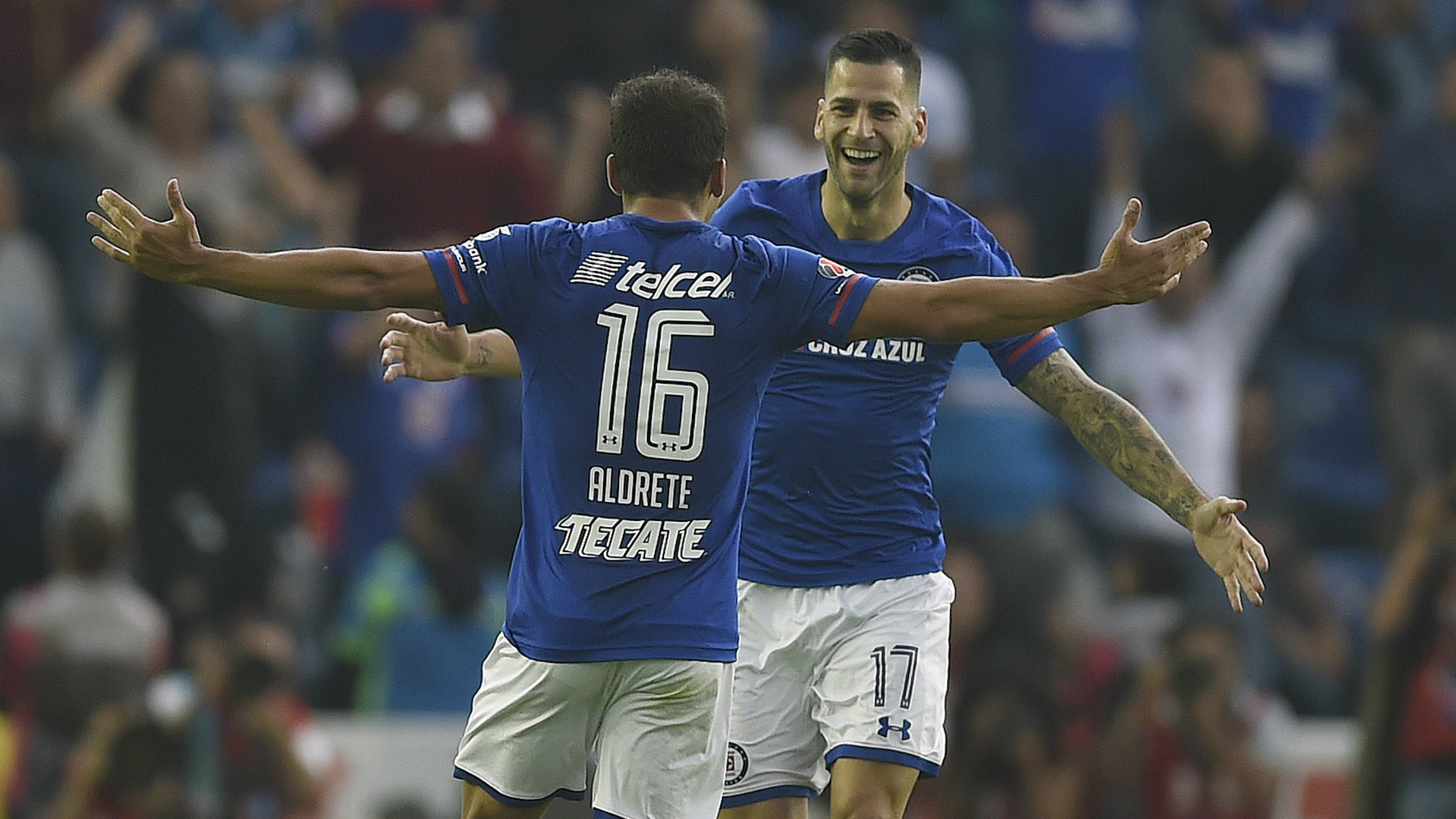 Adrian Aldrete Edgar Cruz Azul