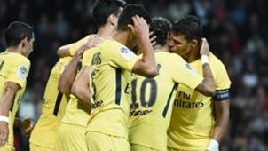 Neymar Thiago Silva Guingamp PSG Ligue 1 13082017