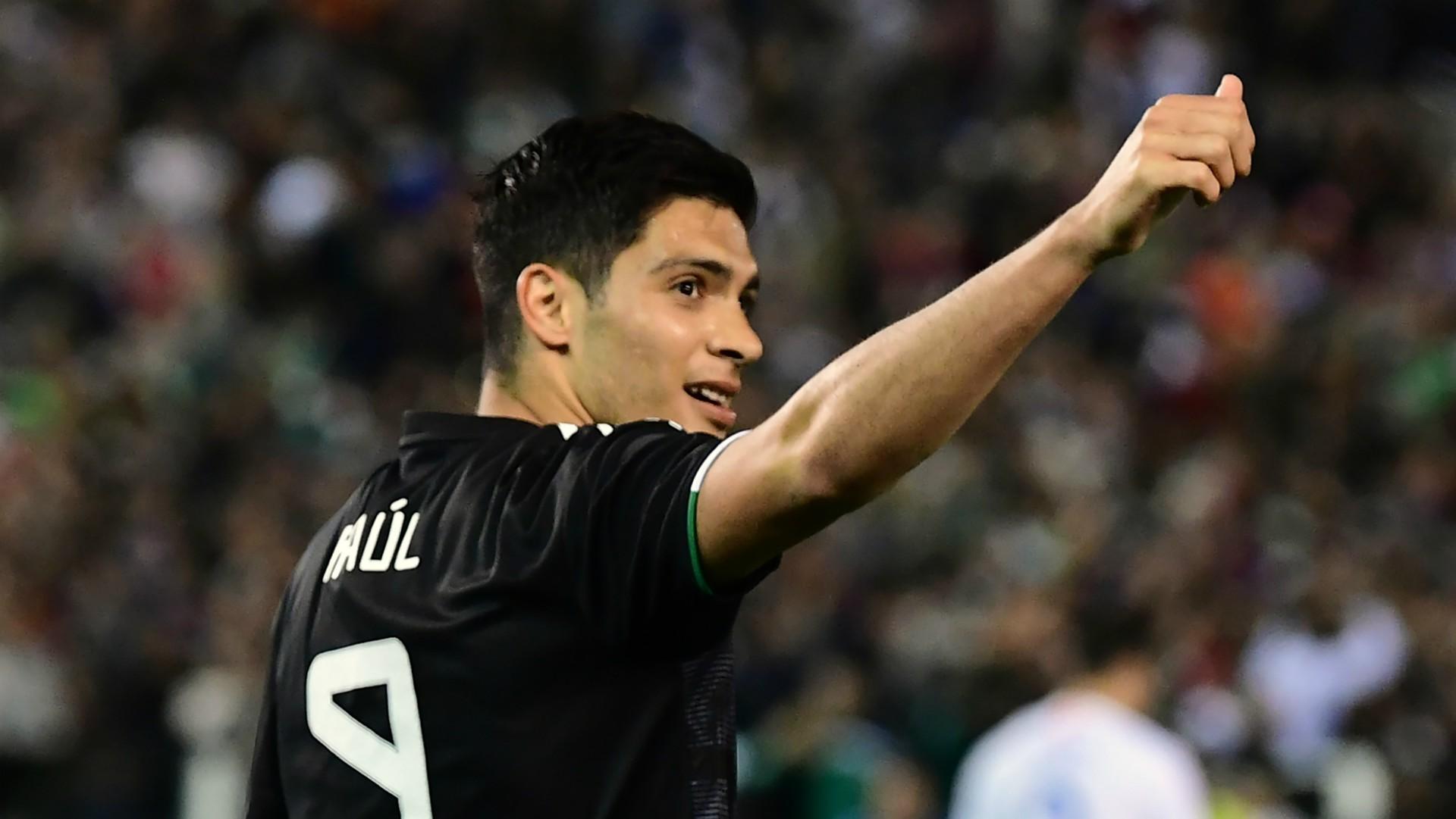 Raúl Jiménez Selección mexicana