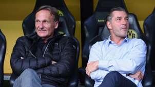 Hans-Joachim Watzke Michael Zorc 2017 BVB